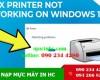 Sửa lỗi Printer not working windows 11