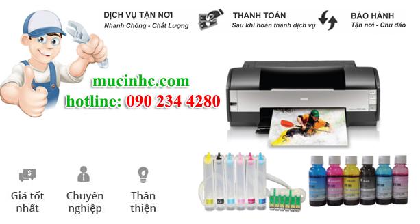 nạp mực máy in đường Huỳnh Văn Nghệ