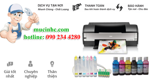 nạp mực máy in đường Nguyễn Hữu Cảnh