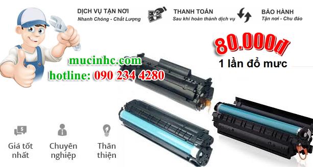 nạp mực máy in đường Nguyễn Văn Lượng