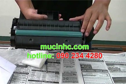 đổ mực máy in tại củ chi giá rẻ