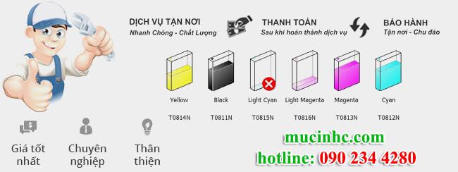 thay mực in tại quận Bình Tân giá rẻ