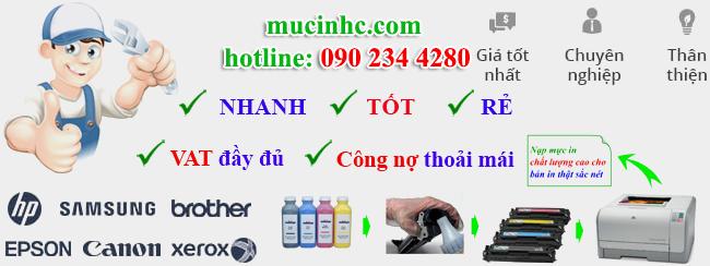 thay mực in tại quận Tân Bình giá rẻ