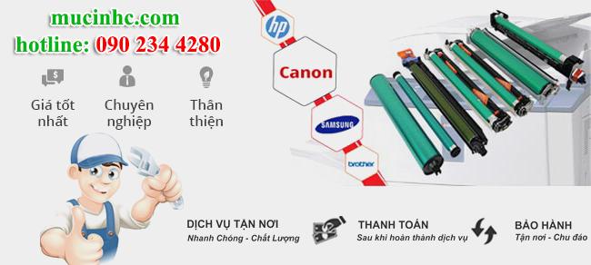 nạp mực máy in tại quận Tân Bình giá rẻ