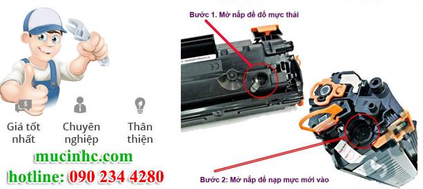nạp mực máy in tại khu công nghiệp giá rẻ