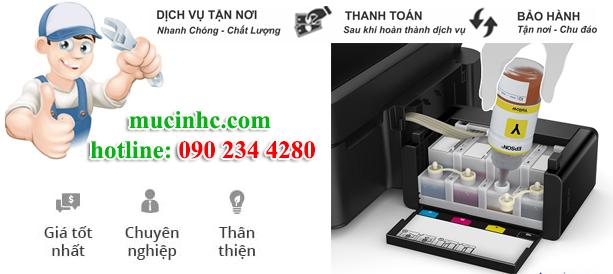 nạp mực máy in tại tphcm giá rẻ