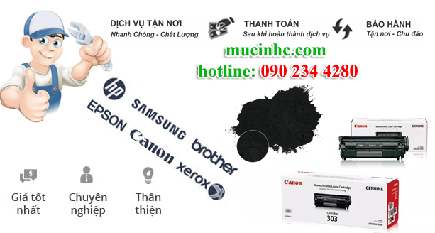 do muc in laser tan binh gia re
