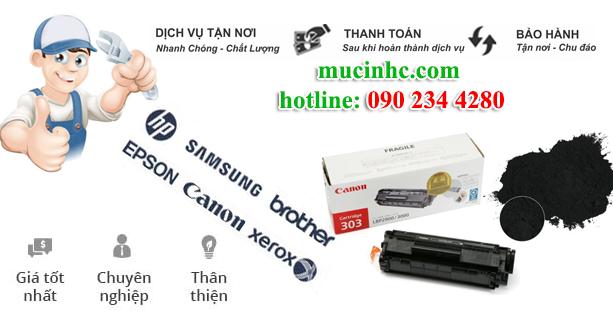 đổ mực in laser Tân Phú giá rẻ