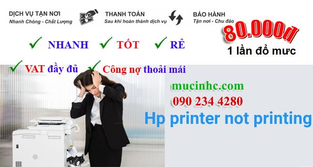 hướng dẫn sửa lỗi hp printer is not printing