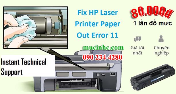 hướng dẫn sửa lỗi out of paper error