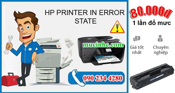 hướng dẫn sửa lỗi printer in error state