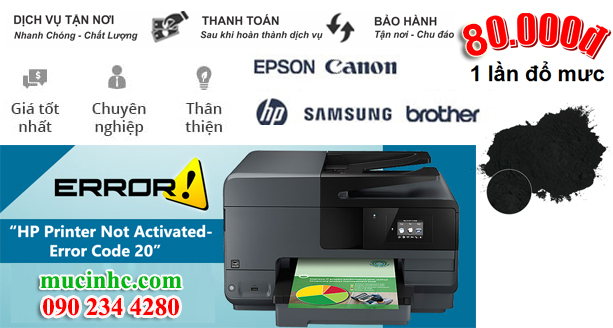 cach khac phuc loi printer not activated