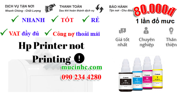 Sửa lỗi HP Printer in Error State