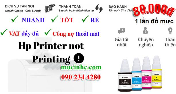 Sửa lỗi HP Printer in Error State